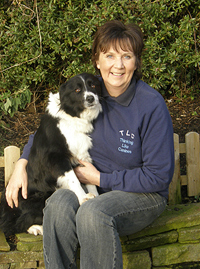 Barbara Sykes and Border Collies
